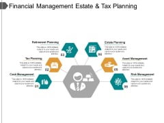 Financial Management Estate And Tax Planning Ppt PowerPoint Presentation Model Background Designs