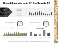 Financial Management Kpi Dashboards Marketing Ppt Powerpoint Presentation Professional Portrait
