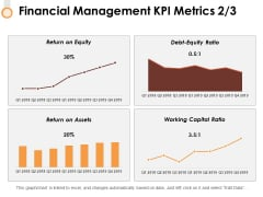 Financial Management Kpi Metrics 2 3 Ppt PowerPoint Presentation Professional Objects