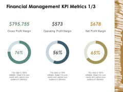 Financial Management Kpi Metrics Business Ppt Powerpoint Presentation Model Example