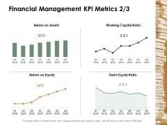 Financial Management Kpi Metrics Management Ppt Powerpoint Presentation File Template