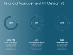 Financial Management Kpi Metrics Operating Profit Margin Ppt Powerpoint Presentation Infographic Template Images