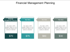 Financial Management Planning Ppt PowerPoint Presentation Layouts Designs Cpb
