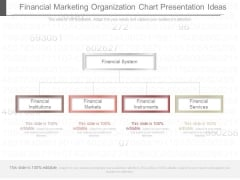 Financial Marketing Organization Chart Presentation Ideas