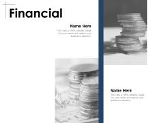 Financial Marketing Ppt PowerPoint Presentation Gallery Slideshow