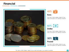 Financial Marketing Ppt PowerPoint Presentation Ideas Graphics Example