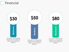 Financial Marketing Ppt PowerPoint Presentation Ideas Pictures