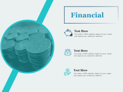 Financial Marketing Ppt PowerPoint Presentation Pictures Brochure