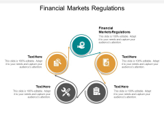Financial Markets Regulations Ppt PowerPoint Presentation Ideas Background Cpb