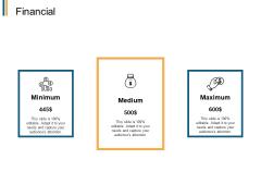 Financial Minimum Maximum Ppt PowerPoint Presentation Show Elements