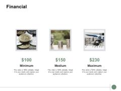 Financial Minimum Medium Ppt PowerPoint Presentation Infographics Skills