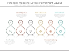 Financial Modeling Layout Powerpoint Layout