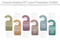 Financial Modeling Ppt Layout Presentation Portfolio