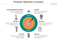 Financial Objectives Company Ppt PowerPoint Presentation Infographic Template Inspiration Cpb