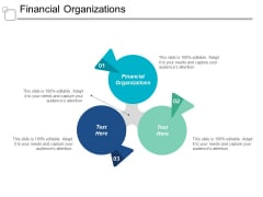 Financial Organizations Ppt PowerPoint Presentation Show Mockup Cpb