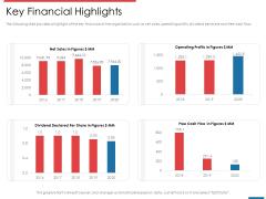 Financial PAR Key Financial Highlights Ppt Layouts Deck PDF