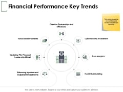 Financial Performance Key Trends Ppt PowerPoint Presentation Pictures Graphic Tips