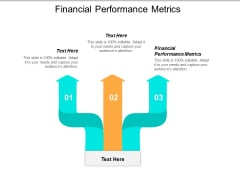 Financial Performance Metrics Ppt PowerPoint Presentation Infographic Template Influencers Cpb