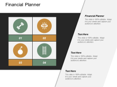Financial Planner Ppt Powerpoint Presentation Slides Visuals Cpb