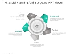 Financial Planning And Budgeting Ppt Model