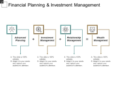 Financial Planning And Investment Management Ppt PowerPoint Presentation Outline Template