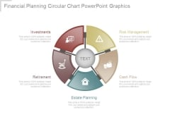 Financial Planning Circular Chart Powerpoint Graphics