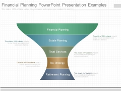 Financial Planning Powerpoint Presentation Examples