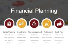 Financial Planning Ppt PowerPoint Presentation Icon