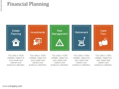 Financial Planning Ppt PowerPoint Presentation Inspiration
