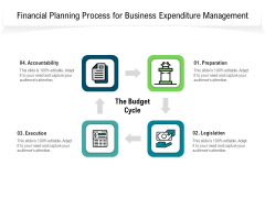 Financial Planning Process For Business Expenditure Management Ppt PowerPoint Presentation File Infographics PDF