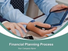 Financial Planning Process Powerpoint Graphics