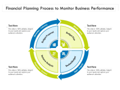 Financial Planning Process To Monitor Business Performance Ppt PowerPoint Presentation File Smartart PDF