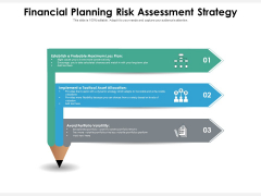 Financial Planning Risk Assessment Strategy Ppt PowerPoint Presentation Portfolio Gridlines PDF