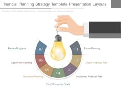 Financial Planning Strategy Template Presentation Layouts