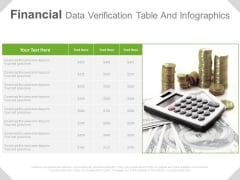 Financial Planning Table Infographic Diagram Powerpoint Slides