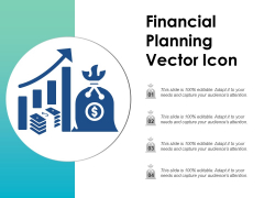 Financial Planning Vector Icon Ppt PowerPoint Presentation Outline Skills