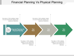 Financial Planning Vs Physical Planning Ppt PowerPoint Presentation Professional Example Cpb