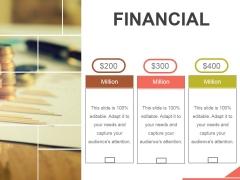 Financial Ppt PowerPoint Presentation Designs