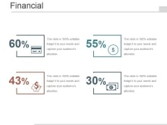 Financial Ppt PowerPoint Presentation Diagrams