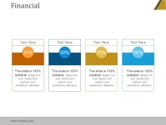 Financial Ppt PowerPoint Presentation Example