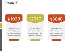 Financial Ppt PowerPoint Presentation File Inspiration