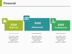 Financial Ppt PowerPoint Presentation Gallery Information