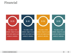 Financial Ppt PowerPoint Presentation Graphics
