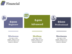 Financial Ppt PowerPoint Presentation Ideas Example Introduction