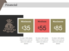 Financial Ppt PowerPoint Presentation Ideas Vector