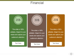 Financial Ppt PowerPoint Presentation Infographic Template Template