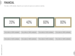 Financial Ppt PowerPoint Presentation Infographics