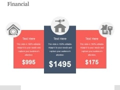 Financial Ppt PowerPoint Presentation Layout