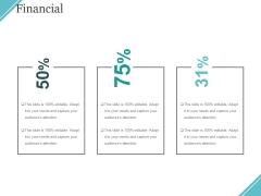 Financial Ppt PowerPoint Presentation Layouts Background Designs