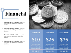 Financial Ppt PowerPoint Presentation Layouts File Formats